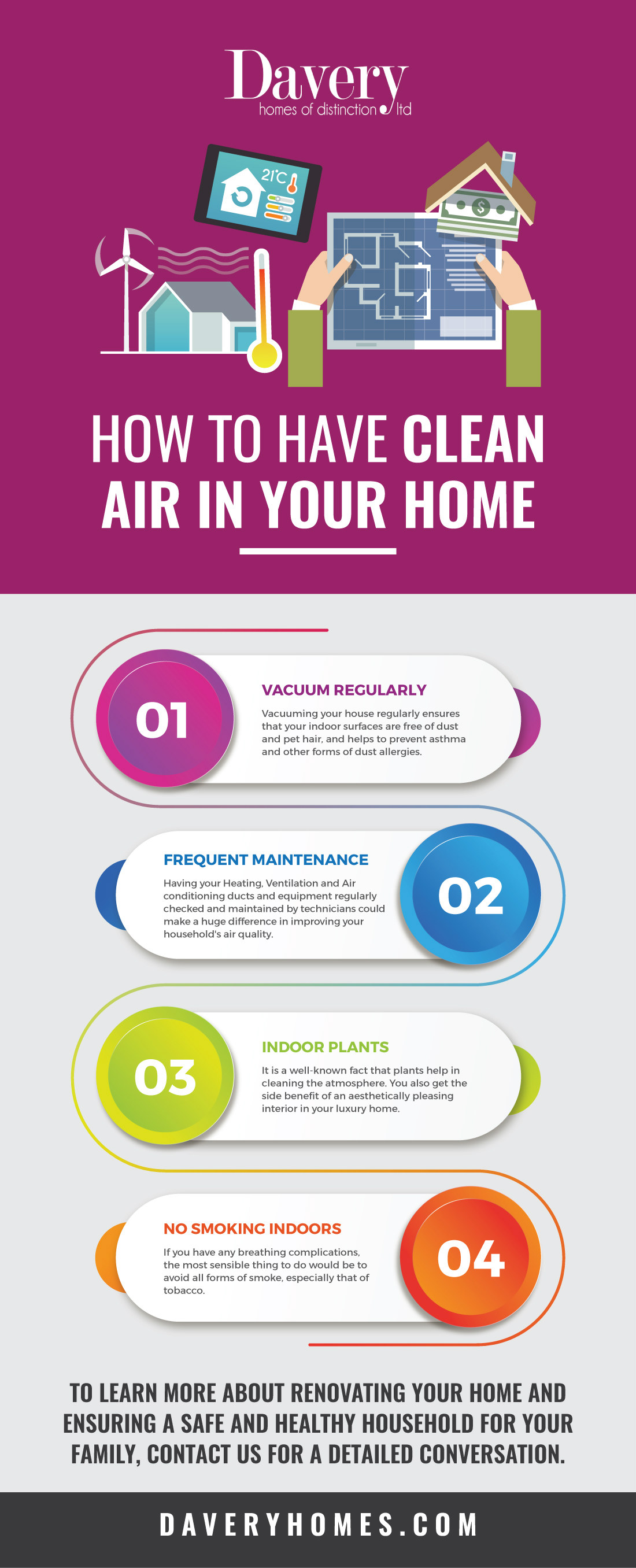 Clean Air in Your Home