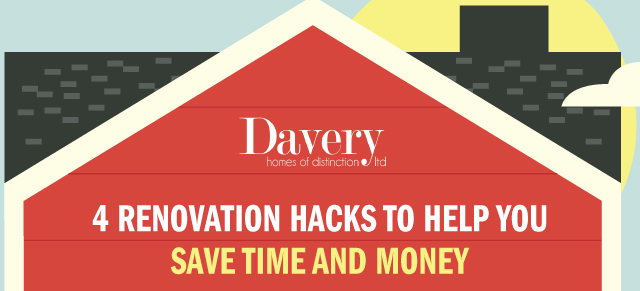 Renovation Hacks to Help You Save Time